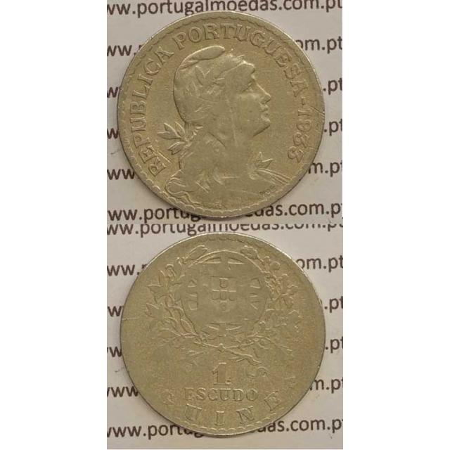 GUINÉ - 1$00 ALPACA 1933 (BC)