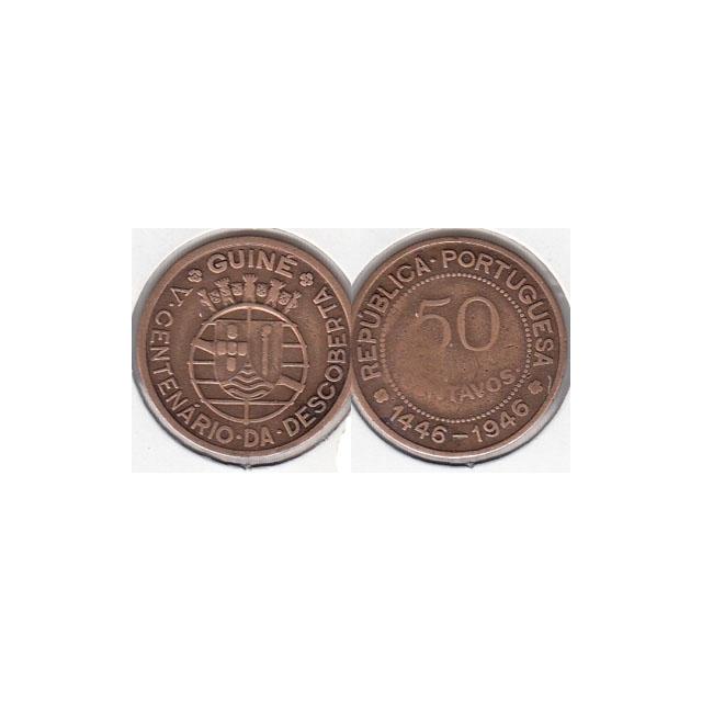 EIXO VERTICAL - 50 CENTAVOS BRONZE 1946 (BC)