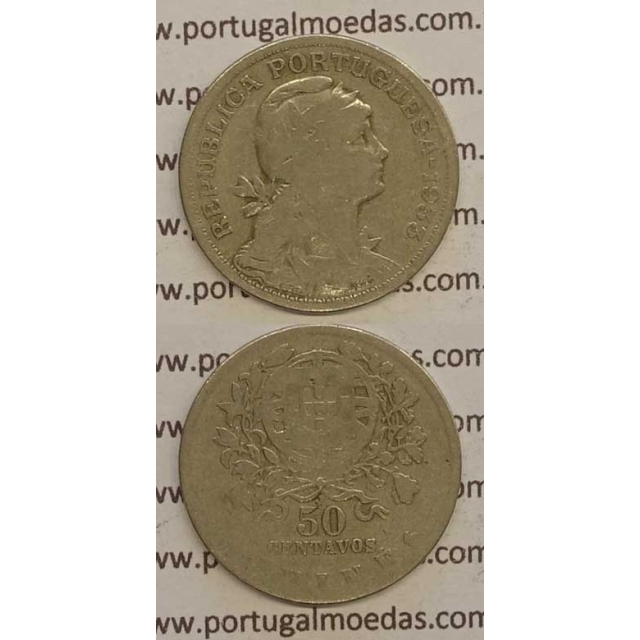 GUINÉ - 50 CENTAVOS ALPACA 1933 (BC-)