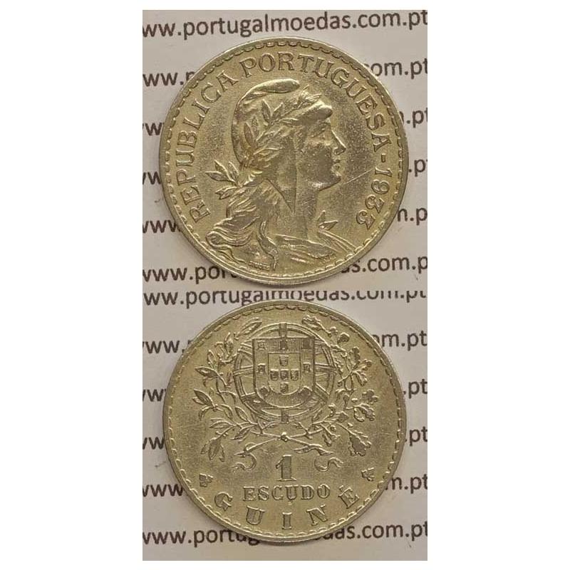 GUINÉ - 1$00 ALPACA 1933 (MBC+)