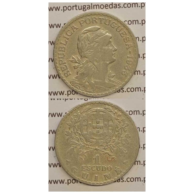 GUINÉ - 1$00 ALPACA 1933 (MBC-)