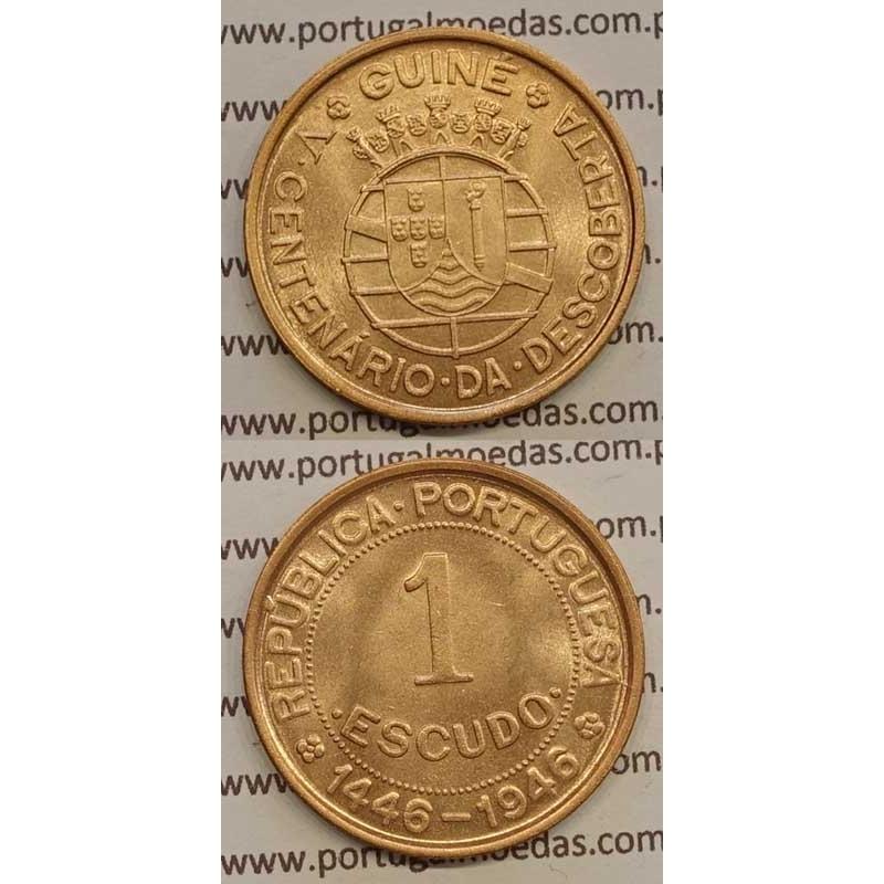 GUINÉ - 1$00 BRONZE 1946 (SOB)