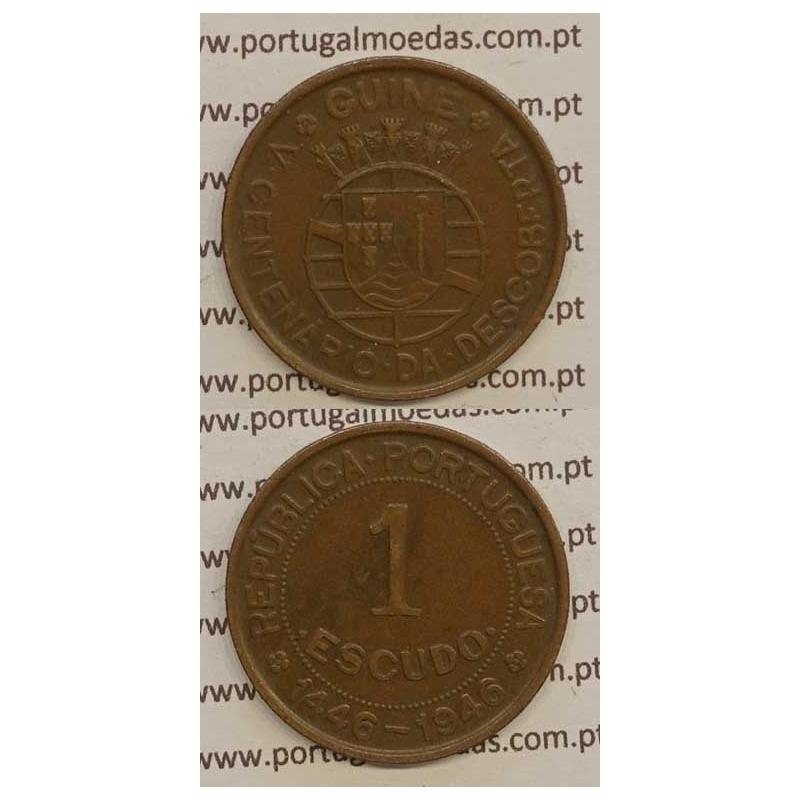 GUINÉ - 1$00 BRONZE 1946 (MBC+)