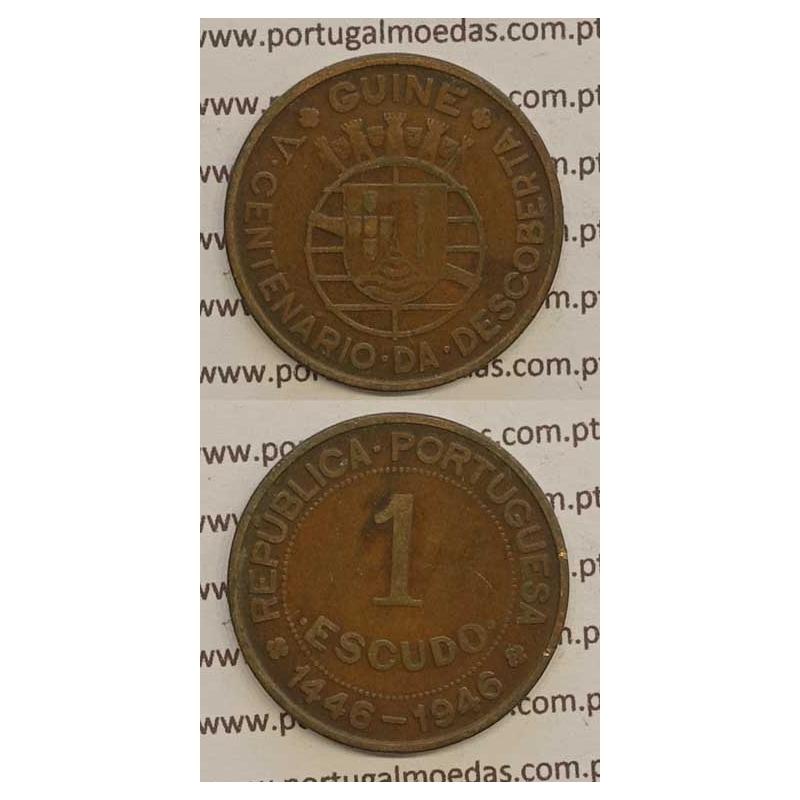 GUINÉ - 1$00 BRONZE 1946 (MBC)