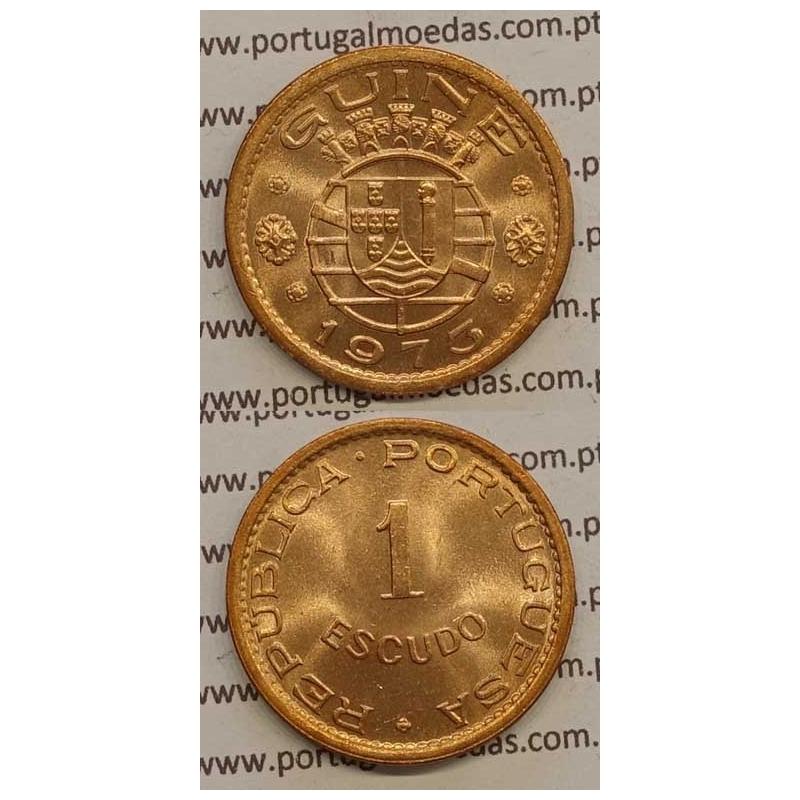 GUINÉ - 1$00 BRONZE 1973 (SOB)