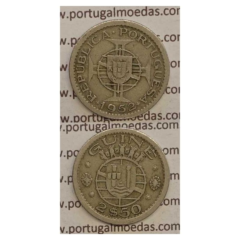 GUINÉ - 2$50 CUPRO-NÍQUEL 1952 (MBC)