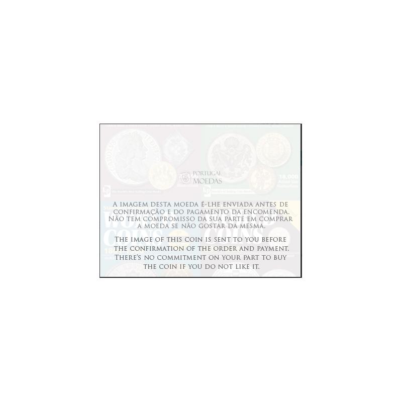 ÍNDIA - 10 CENTAVOS BRONZE 1958 (MBC)