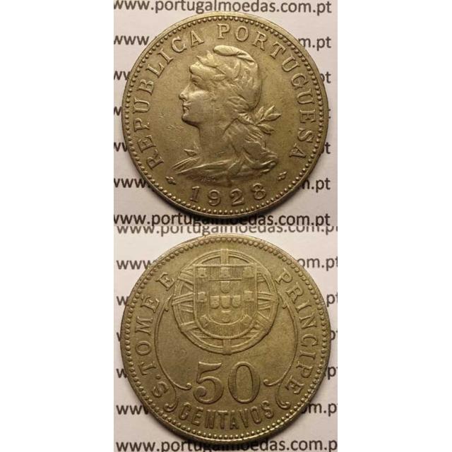 50 CENTAVOS ALPACA 1928 (MBC)