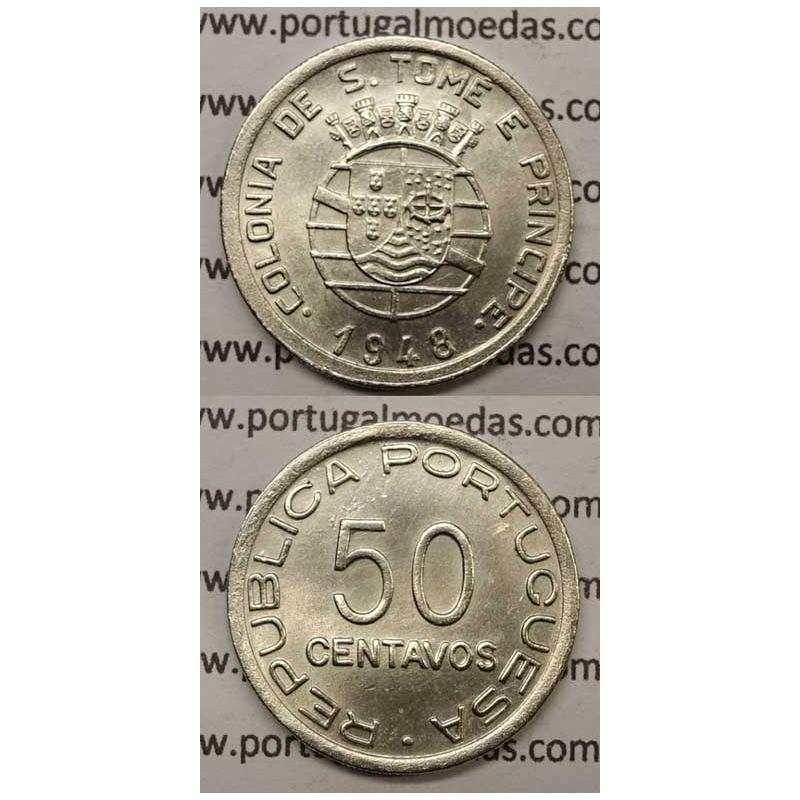 50 CENTAVOS ALPACA 1948 (BELA/SOB)
