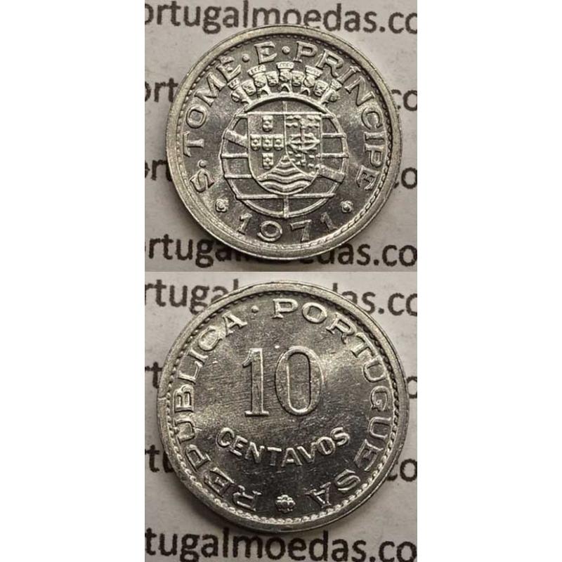 10 CENTAVOS ALUMÍNIO 1971 (SOB)