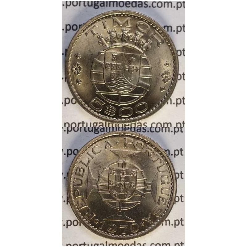 5$00 CUP.NIQUEL 1970 (SOB)