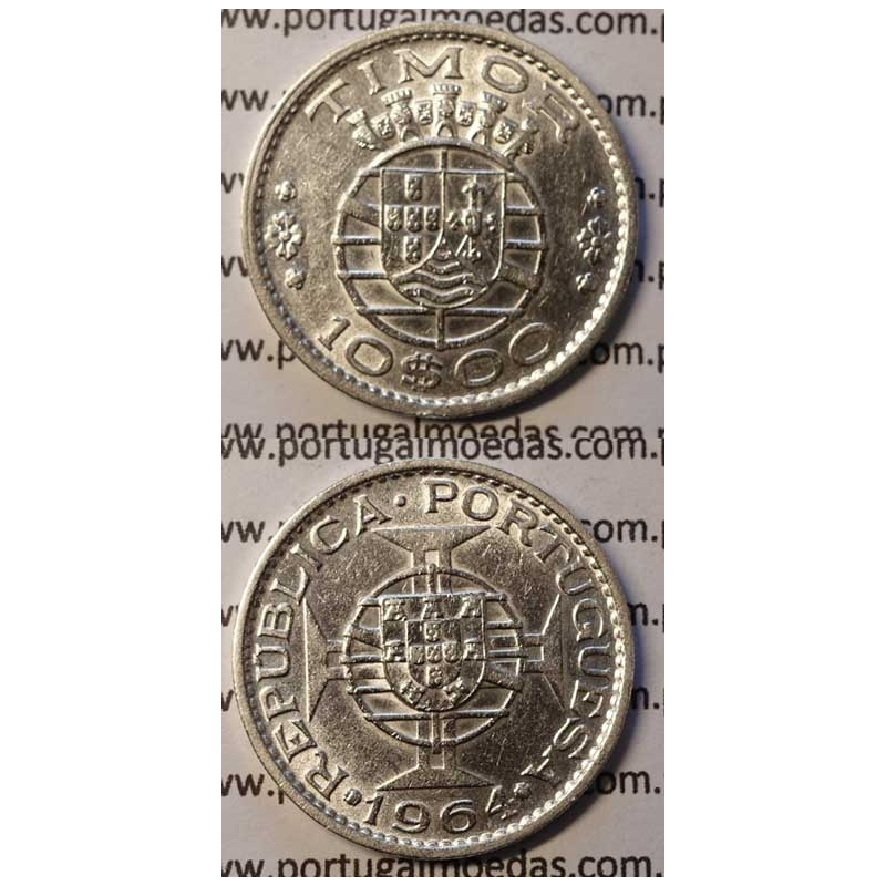 10$00 PRATA 1964 (MBC+/BELA-)
