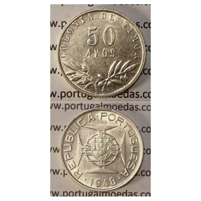 50 AVOS PRATA 1948 (MBC+/BELA-)
