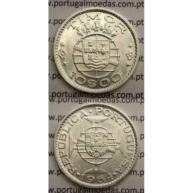 10$00 PRATA 1964 (SOB)