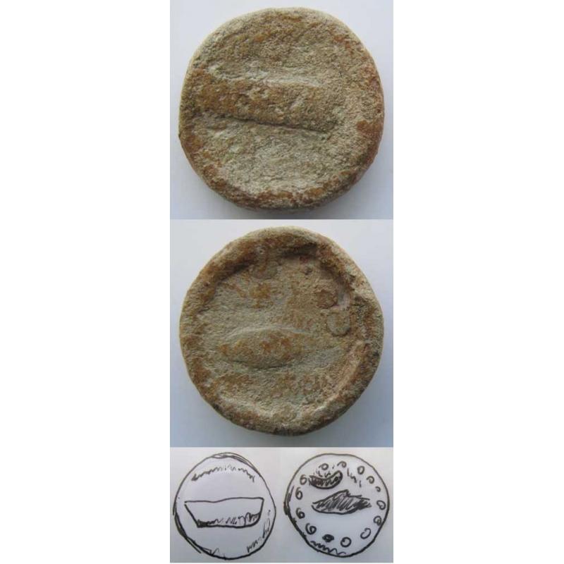 PORTUGAL - SEMISSE CHUMBO - BALSA -PORTUGAL / TAVIRA (SÉCULO I a.C)
