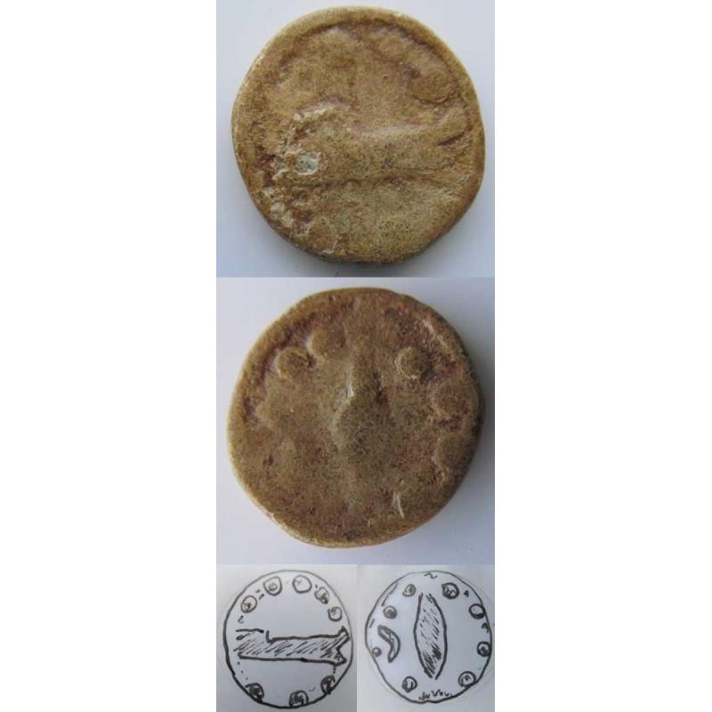 PORTUGAL - TRIENTE CHUMBO - BALSA -PORTUGAL / TAVIRA (SÉCULO I a.C)