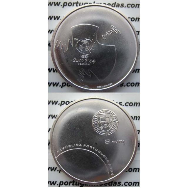 "8 EUROS PRATA 2004 ""A DEFESA"" (BELA/SOB)"