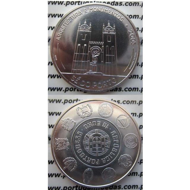"""10 EUROS PRATA 2005 """"SÉ DO PORTO"""" (BELA/SOB)"""
