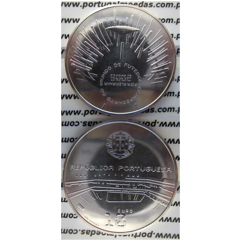"""10 EUROS PRATA 2006 """"CAMPEONATO DO MUNDO DE FUTEBOL"""" (BELA/SOB)"""