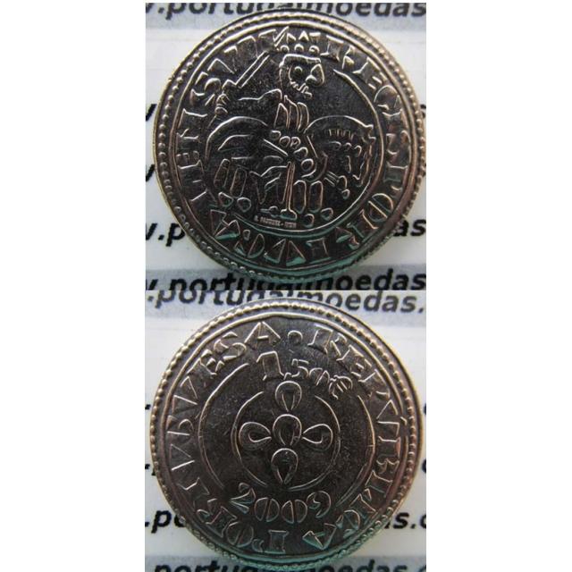 """1,50 EUROS CUPRO-NIQUEL 2009 """"O MORABITINO"""" (BELA/SOB)"""