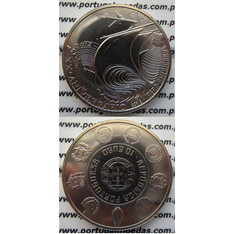 "10 EUROS CUPRO-NÍQUEL 2012 ""IBERO-AMERICANA"" (BELA/SOB)"