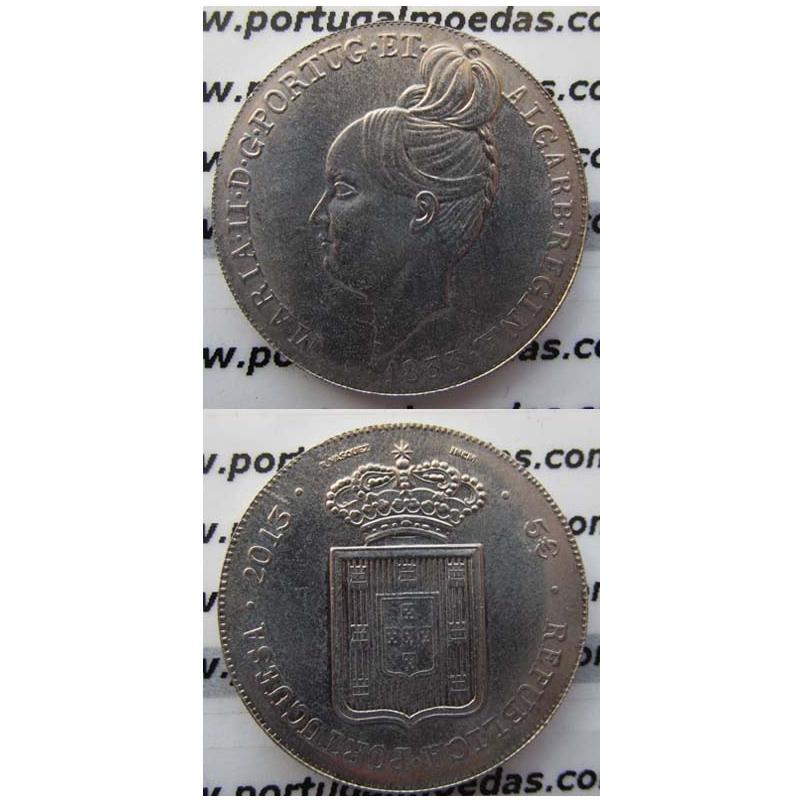 """5€ """"Euros"""" 2013, D. Maria II, (5 Euro 2013, A degolada D. Maria II"""