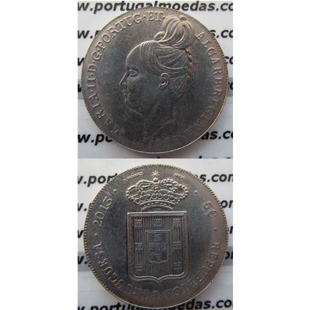 "5 EUROS CUPRO-NÍQUEL 2013 ""D.MARIA II"" (BELA/SOB)"