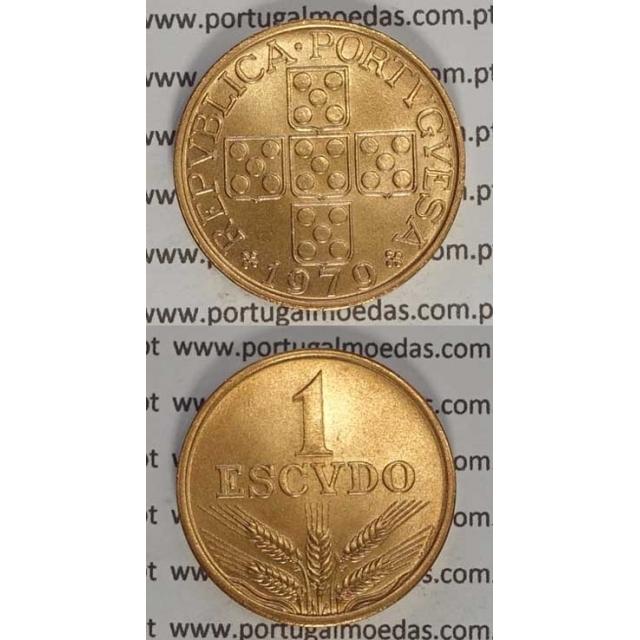 1$00 BRONZE 1979 (SOB) EIXO VERTICAL