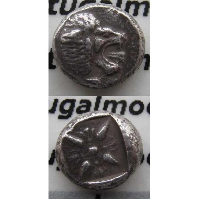 1/12 STATER PRATA (510 a.C. A 494 a.C.) IONIA - MILETO ( ÁSIA MENOR)