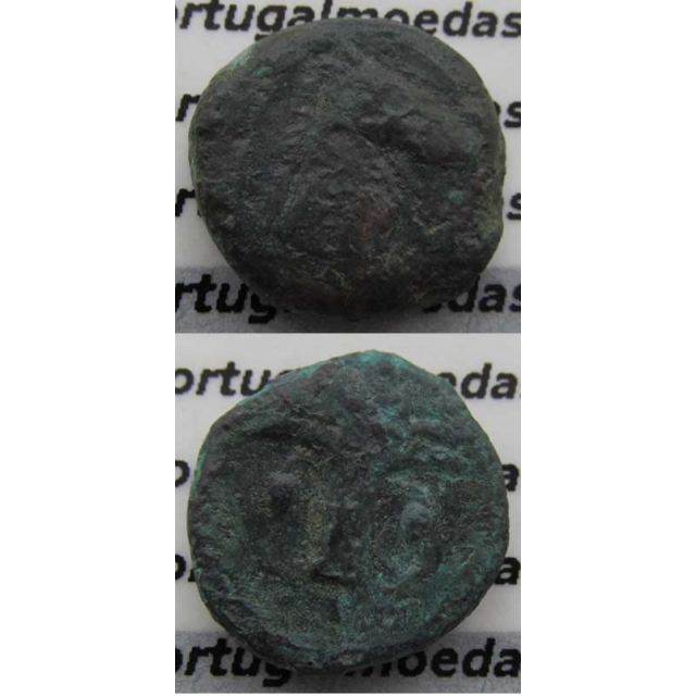 PEQUENO BRONZE (350 a.C. A 320 a.C.) CARTHAGO ( DOMINIO PÚNICO)