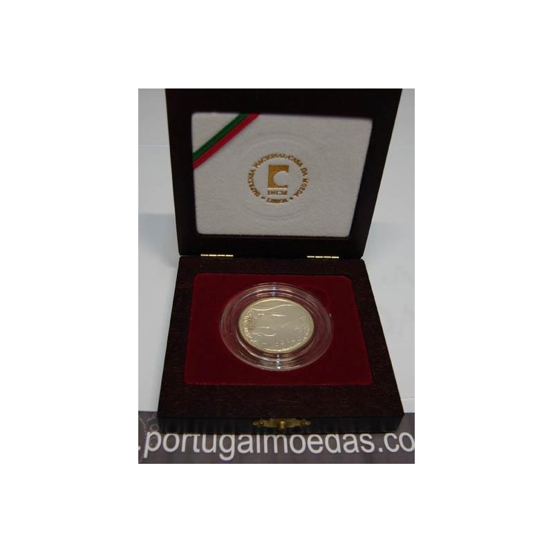 ESTOJO 500$00 PRATA PROOF (2000) EÇA DE QUEIROZ